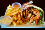 Lamb Gyro with Fries